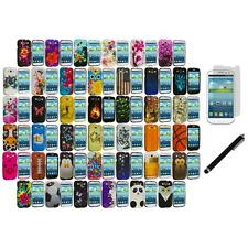 Design Hard Rubberized Cover Case+LCD Film+Stylus for Samsung Galaxy S3 S III