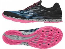 New ADIDAS XCS 5 W Sprint Running Spikes Shoes M18862 Womens Size 7 Black Pink