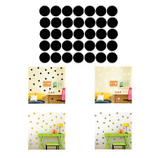 Polka Dots Wall Sticker Baby Nursery Stickers Kids Children Wall Decals Home HY