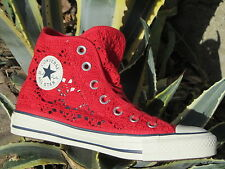 Scarpe Converse To Star CT Hi Specialty Crochet 552998c woman sneakers Red
