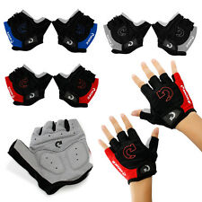 Unisex Cycling Gloves Bicycle Motorcycle Sport Half Finger Gloves S-XL Camping