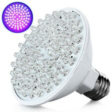 Hot Ultra Bright E27 UV Ultraviolet Color Purple Light 80LED Lamp Bulb 110/220V