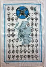 Scottish Tea Towels or Wall Hangers, 100% cotton - 8 Designs - Scotland Gift