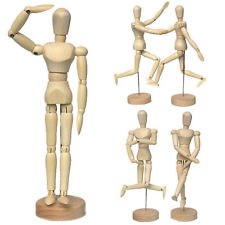 Wooden Human Figure Manikin Artist Draw Painting Model Mannequin Jointed Doll