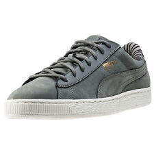 Puma Basket Classic Citi Womens Trainers Grey New Shoes