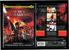 New Barbarians: Warriors of the Wasteland (Brand New DVD) - Rare, Out Of Print