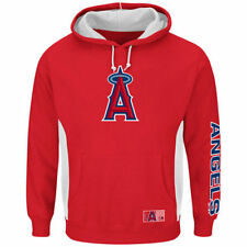 Majestic Los Angeles Angels of Anaheim Red Big & Tall Stadium Hoodie