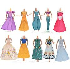 Lace Dresses For Cinderella Barbies Dolls Gown Wedding Party Doll Beauty