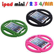 wheel Rubber Shockproof Children Kids EVA Foam Case back Cover for iPad Air Mini