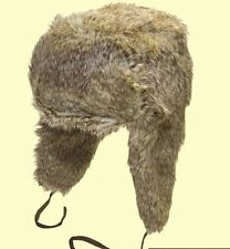 Adults Unisex FAUX FUR Trapper Hats Thermal and Very Warm 59/60cm BNWT RRP£29.99