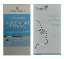 Pretty 6 Deep Cleansing  Forehead & Chin Strips /  6 Cleansing Nose Pore Strips