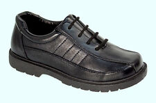 Josmo Kids Boy's Lace-Up Oxford Casual/Dress/School Shoes Black, Sizes 12, 13, 1