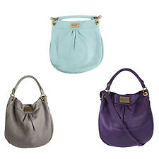 NWT Marc by Marc Jacobs Classic Q Hillier Leather Hobo Shoulder Bag