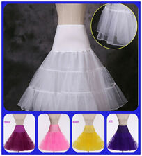 Petticoat Underskirt Women Retro Vintage Dress Crinoline Petticoat Rockabilly *