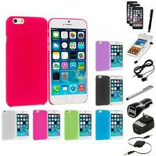 For Apple iPhone 6 (4.7) Ultra Thin Cover Case+10X Accessory Bundle