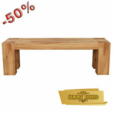 Bench bench di Design in oak oiled solid Clemence Richard measures var