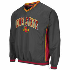 Colosseum Iowa State Cyclones Charcoal Fair Catch Pullover Jacket - College