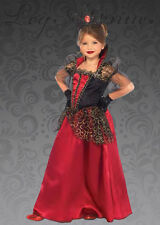 Kids Deluxe Gothic Red Wicked Queen Costume