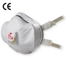 DUST MASKS DISPOSABLE DIY RESPIRATOR FFP3 VALVED SAFETY FACE WORK FOLD FLAT X 10