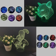 Colorful Changing LED Night Light Lamp Home Room Party Desk Decor Visual LampTG7