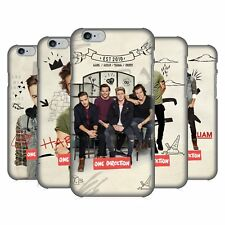 OFFICIAL ONE DIRECTION PHOTO DOODLE HARD BACK CASE FOR APPLE iPHONE 6 6S
