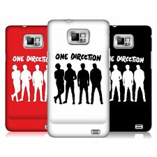 OFFICIAL ONE DIRECTION GROUP SILHOUETTE HARD BACK CASE FOR SAMSUNG GALAXY S2 II