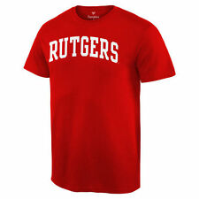 Fanatics Branded Rutgers Scarlet Knights Scarlet Basic Arch T-Shirt - College