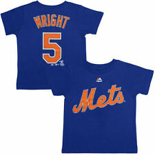 Majestic David Wright New York Mets Toddler Royal Player Name and Number T-Shirt
