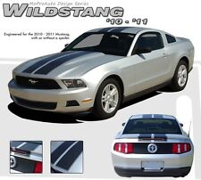 2010-2012 Ford Mustang WILDSTANG Stripe Graphic Decals Kit 3M Pro Series PDS1568