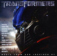 Original Soundtrack - Transformers (2007) (Music From and Inspired By) CD NEW