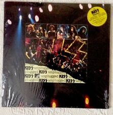 KISS UNPLUGGED 2LP VINYL + SEALED WITH PROMO STICKER