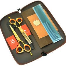 5.5inch Hair Scissors Set Cutting Thinning Shears Salon Tools for Hairdresser