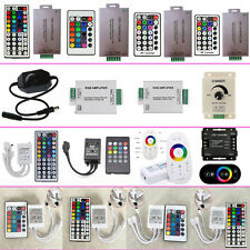 LED Controller Wireless RF IR Dimmer Amplifiers for 5050 3528 RGB Strip Lights #