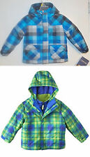 Cherokee Infant Toddler Boys 4 in 1 Jacket Coat Green or Blue Size 18M & 4T NWT
