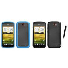 For HTC One S TPU Hard Case Skin Phone Cover Stylus Pen