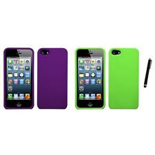 For Apple iPhone 5/5S/SE Snap-On Hard Case Phone Cover Skin Accessory Stylus Pen