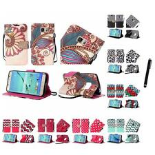 For Samsung S7 Edge Wallet Design Case With ID Card Slots Pockets Stylus Pen
