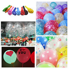 Pearl Polka Dot Transparent Latex Balloon for Celebration Wedding Birthday Party