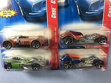 Hot Wheels 2007 Code Cars Lot of 4 - Dieselboy, Motoblade & Suzuki GSX-R/4 -