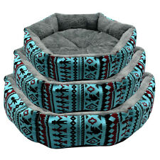 Didog Warm Fleece Dog Beds Cotton Pet Cat Basket Puppy Cushion Blanket Mattress