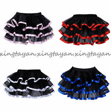 Girl Ribbon Mini Petticoat Vintage Underskirt 50s Swing Wedding Crinoline Skirt