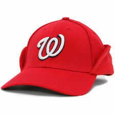 New Era Washington Nationals Red Downflap 39THIRTY Flex Hat