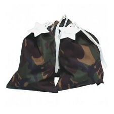 Camouflage Vintage Fabric Party Bags & Gift Tags - Packet of 2