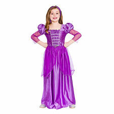 Girls Sweet Princess Fancy Dress Up Party Costume Halloween Child Outfit Purple