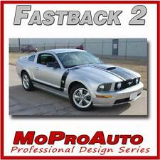 FASTBACK 2 BOSS Style Mustang GRAPHICS - 3M Pro Grade Stripes Decal 2009 603