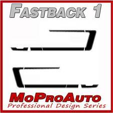 FASTBACK 1 Mustang Vinyl GRAPHICS Stripes Decal - 3M Pro Grade 2008 972