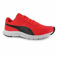 Puma FlexRacer Running Shoes Womens Red/Black Run Fitness Trainers Sneakers