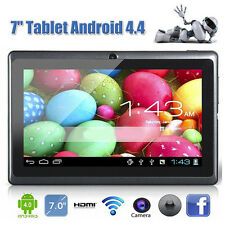 7 Inch WIFI Quad Core Tablet PC HD 1024*600 Google Play Android 4.4 8GB Gifts