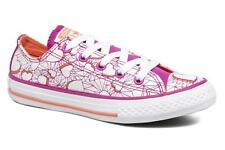 Kids's Converse Chuck Taylor All Star Ox Low rise Trainers in Purple