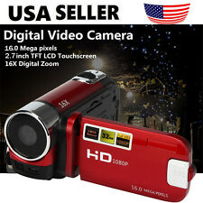 16MP 2.7'' HD 1080P LCD Touch Screen Digital Video Camera Camcorder DV 16X Zoom